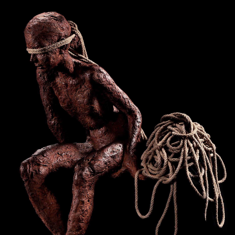 Detalle escultura Teresa Riba foto Anna Batalla