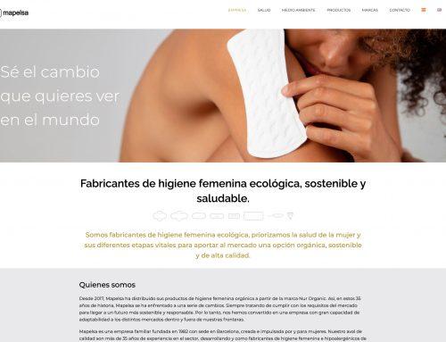 WEB para Mapelsa, S.L.